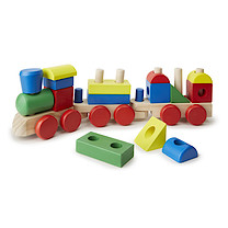 Melissa & Doug - Wood Stacking Train
