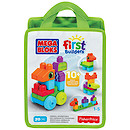 Mega Bloks First Builders Build 'n' Learn Bag - Animal Adventures