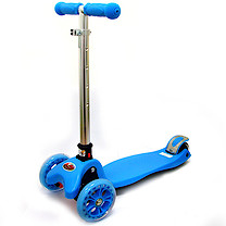 Tri Fold Scooter - Blue