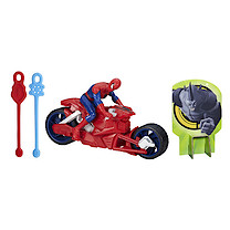 Marvel Ultimate Spider-Man Web Slingers Racers - Spider-Man with Spider Speedster