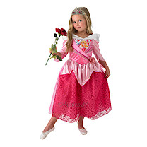 Disney Princess Shimmer Sleeping Beauty Dress & Tiara - Small (3-4 years)