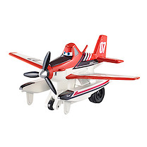Disney Planes Pull & Fly Buddies - Dusty