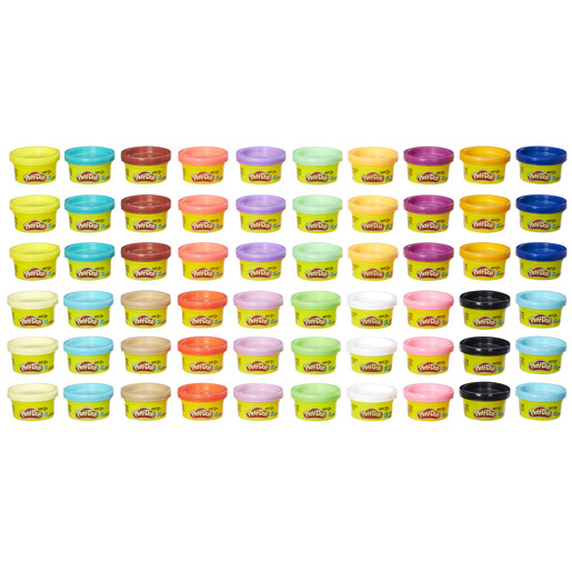 Play-Doh Celebration 60 Anniversary - 60 Pods Pack