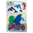 Hama Beads Starter Pack - Dolphins & Seahorse