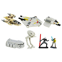 Star Wars Micro Machines Rebellion Rising Set
