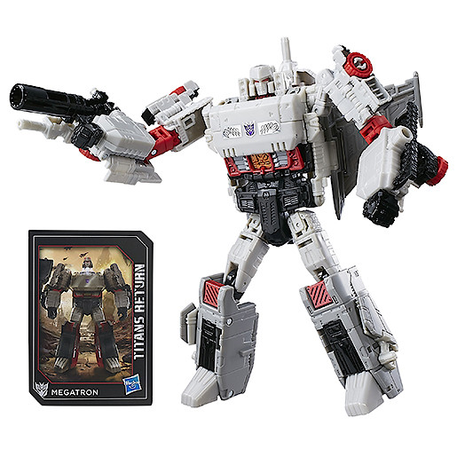 Transformers Generations Titans Return Voyager Class Figure  Doomshot & Megatron
