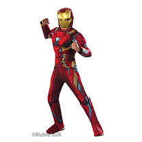 Marvel Captain America Civil War Deluxe Muscle Costume - Iron Man (5-7 Years)