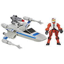 Star Wars Hero Mashers Resistance Pilot & Resistance X-Wing Vehicle