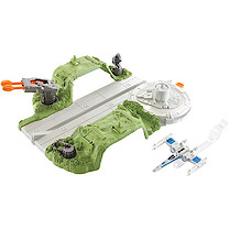 Hot Wheels Star Wars Resistance X-Wing Hangar Playset