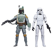 Star Wars Mission Series - Boba Fett and Stormtrooper Figures