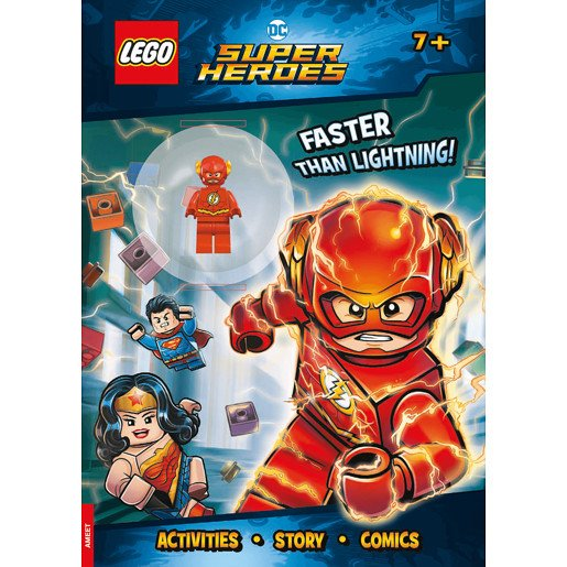 Lego DC Superheroes - Activity Book with Mini Figure