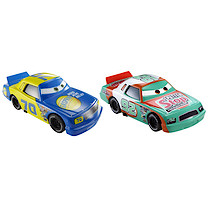 Disney Pixar Cars 2 - Race Team Sputter Stop No. 92 and Gasprin No. 70