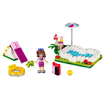 Lego Friends Olivia's Garden Pool - 41090