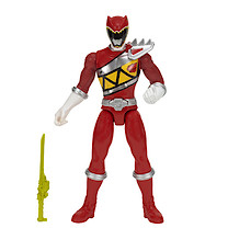 Power Rangers Dino Charge 25cm Red Ranger Action Figure With Sound