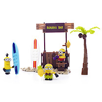 Mega Bloks Despicable Me Beach Day Figure Pack - 89 Pieces