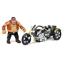 Teenage Mutant Ninja Turtles Movie 2 Bebop with Warthog Trike Vehicle