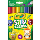 Crayola 6 Chisel Tip Scented Markers
