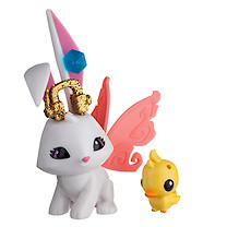 Animal Jam Sunny Bunny Figure with Pet Ducky