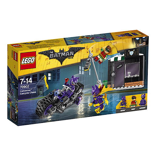 LEGO Batman Movie Catwoman Catcycle Chase - 70902