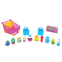 Shopkins with Small Trolley - 10 Figure Pack