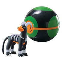 Pokemon XY Clip 'n' Carry Poke Ball - Houndoom & Dusk Ball