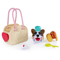 Chubby Puppies Fashion Carrier with Accessories - Boxer