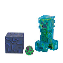 Minecraft Charged Creeper Figure with Accessories