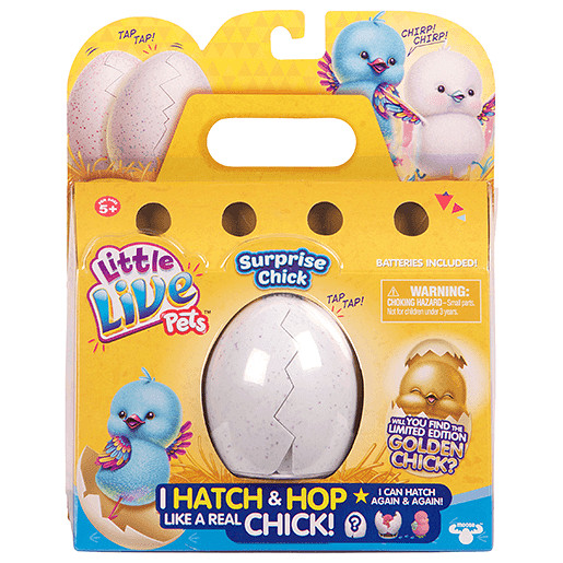 Little Live Pets Hatch And Hop Chick Surprise
