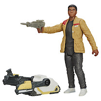 Star Wars The Force Awakens 9cm Finn (Jakku) Combine Figure