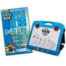 Paw Patrol Bundle - Travel Art Easel and 52 Piece Art Set