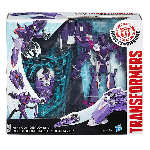 Transformers Robots In Disguise MiniCon Deployers Action Figure  Fracture with Airazor
