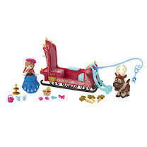 Disney Frozen Little Kingdom Anna's Sleigh Ride Set