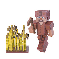 Minecraft Steve Leather