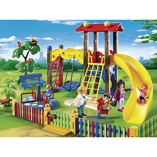 Playmobil   City Life Children's Playground 5568