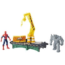 Marvel Ultimate Spider-Man Sinister 6 Rhino Rampage Playset