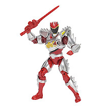 Power Rangers Dino Super Charge 12.5cm Action Figure - Dino Super Drive Red Ranger