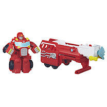 Playskool Transformers Rescue Bots Hook and Ladder Heatwave Figure
