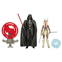 Star Wars Rebels 2 Figure Pack - Darth Vader & Ahsoka Tano