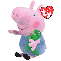TY Beanies Peppa Pig George Soft Toy