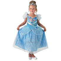 Disney Princess Shimmer Cinderella Dress & Tiara - Medium (5-6 years)