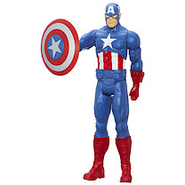 Marvel Avengers Assemble - Titan Hero 30cm Captain America Figure
