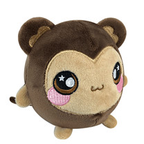 Animagic Plush Squishamals - Monkey