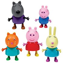 Peppa Pig 5 Figure Pack General