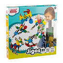 Little Hero Jigos Easy to Build Playset - 50 Pieces