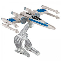Hot Wheels Star Wars Die Cast Resistance X-Wing Fighter Vehicle