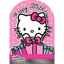Hello Kitty Gifts Birthday Card