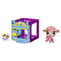 Littlest Pet Shop Mini Style Set with Lamb Figure