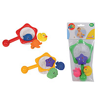 Abc Fishing Net With 3 Vinyl Squirt Animals