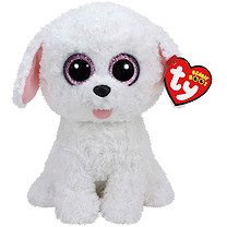 Ty Beanie Boo Buddy - Pippie the Dog Soft Toy