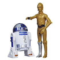 Star Wars Mission Series - R2-D2 and C3PO Figures Wave 2